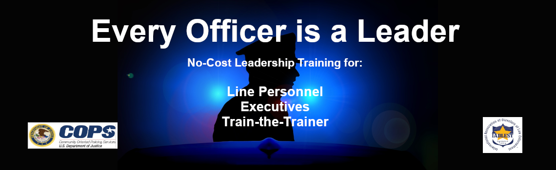 Every Officer is a Leader